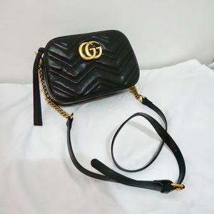 Handbags - Gucci 9 x 6 x 3 Black